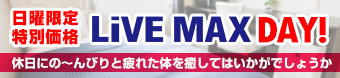 LiVE MAX DAYプラン